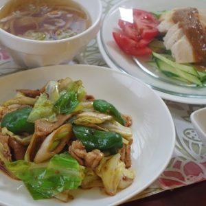 料理の基礎2コース(6回シリーズ)中華:回鍋肉