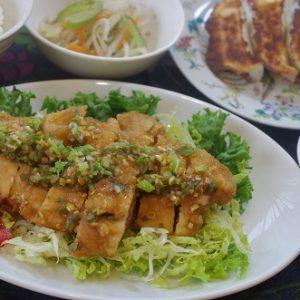 基礎2コース 中華 油淋鶏