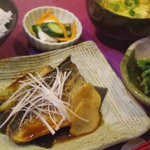 基礎1夜コース(6回シリーズ)和:煮魚、お浸し