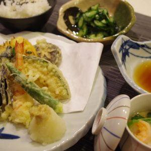 基礎1コース(6回コース)和食:天ぷら